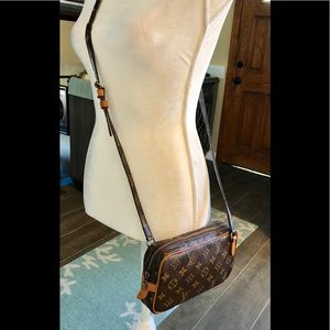 Authenticated Louis Vuitton crossbody Marly
